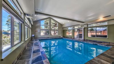 Heated Indoor and Private Swimming pool.