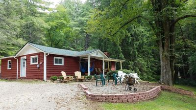 Rustic Asheville Cabin on 20 Acres w/Swimming Pond