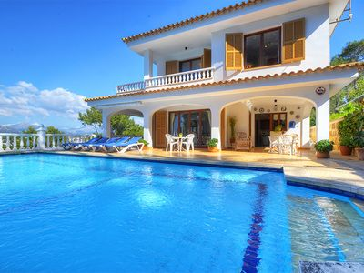Photo for VILLA MONTSITA in Santa Ponça and with spectacular views over the sea.