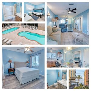 Photo for ► ★ Gulf View! Remodeled 2BR / 2BA, Wkly Specials, 2 Pools & Free WiFi. Book Now
