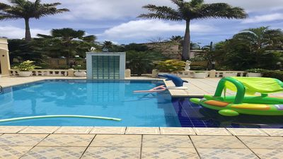 Photo for House in Barra de Sirinhaém 6 suites with pool 50m from the sea
