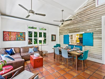 """Photo for """"BAHAMA PALMS""""~Adorable 3 Bedroom Home in Bahama Village with Pool!"""