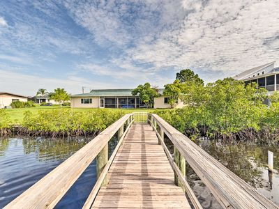 Photo for NEW! Peaceful Riverfront Retreat w/ Dock & Yard!
