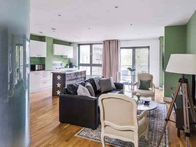 Photo for Sonder | Hoxton Square | Chic 2BR + Laundry