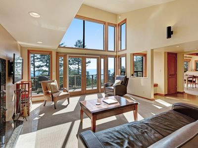 Photo for Blue water & white water views, private setting, shared pools, saunas & tennis!