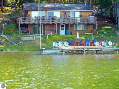 Photo for Large Lakefront House 20 Minutes from Downtown Traverse City ~ Includes Kayaks!