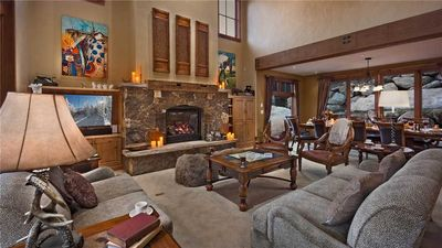Photo for 4BR Luxury + Private Hot Tub + Ski shuttle + Elevator - Black Bear Chalet