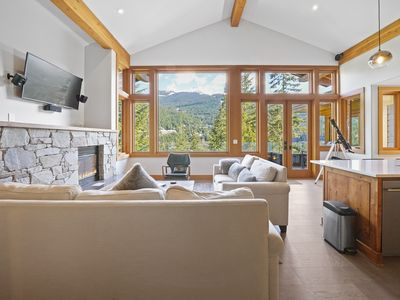 Photo for Pine Point Whistler Chalet - Renovated with Jacuzzi & Home Theatre