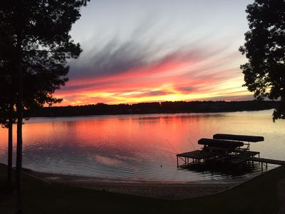 Photo for Master's and Vacation Lakefront  Rental 5 BR/3 BA At Reynolds Lake Oconee