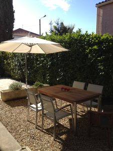 Relax and unwind in you own garden. Enjoy meals together outside.