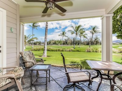 Photo for Luxury Resort Garden View Condo with A/C, Lanai, Jacuzzi Bathtub, Complex Pool, Hot Tub, Gym (2 BR)