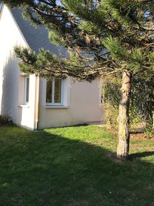Photo for Holiday house between beach and dunes in unspoilt natural site.
