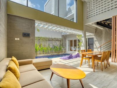 Photo for Affordable 4 BR Villa in Nusa Dua with Private Pool, Large Group Welcome