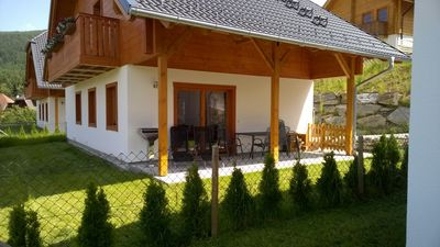Photo for Great vacation home with sauna, fireplace, WiFi, mountain views, 3 bedrooms, 2 bathrooms