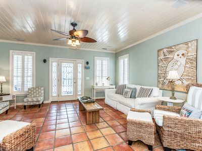 Photo for Old Florida Beach, 3BR Just Off 30A: New Pool House, Heated Pool & Grill Area