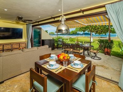 Photo for Beachfront Home! 4 Bedrooms w/ Chef's Kitchen & Beautiful Sunsets!