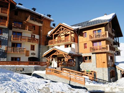 Photo for Nice apartment on the slopes of the Les Sybelles ski area