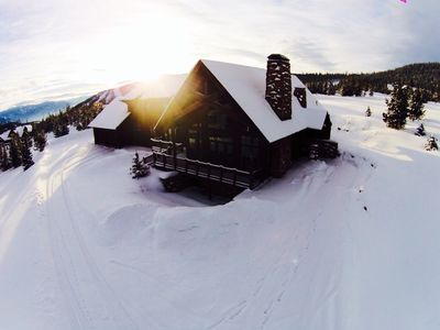 Photo for Incredible Ski-in-Ski-Out Private Home - Diamond Hitch Sleeps 18