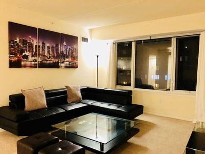 Photo for 1BR Apartment Vacation Rental in Edgewater, New Jersey