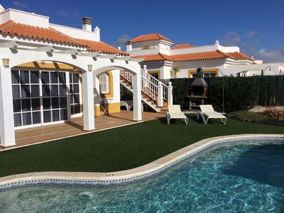 Photo for Private Heated Pool and Sea Views