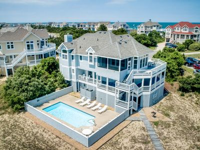 Photo for Brandywine | 490 ft from the beach | Dog Friendly, Private Pool, Hot Tub