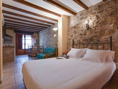 Photo for Rural apartment Turimaestrat for 2 people