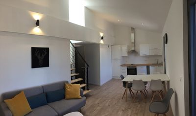 Photo for Duplex apartment in the heart of Marseillan