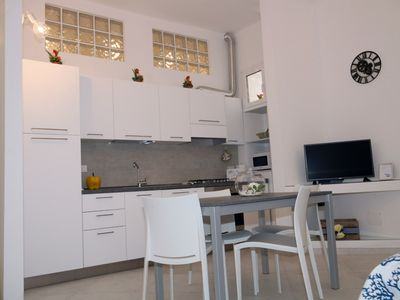 Photo for Casa da Bianca new apartment 50 meters from the sea