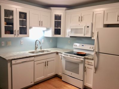 Enjoy the renovated, fully-equipped Kitchen!