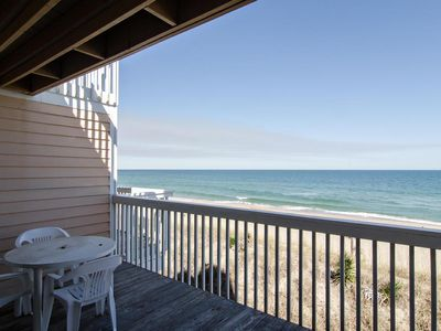 Photo for Cozy oceanfront condo with amazing views and pool access