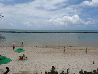 Photo for House waterfront, walk in the sand; 4 Suits, luxury; HOMEMADE, KITCHEN and others.