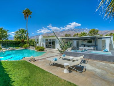 Photo for Iconic Mid-Century Alexander Butterfly with Pool, Spa, Outdoor Living and Views!