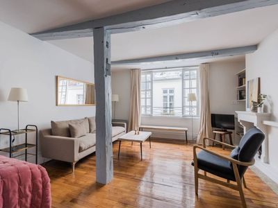 Photo for On the Ile Saint Louis – Spacious Studio in the Very Heart of Paris!