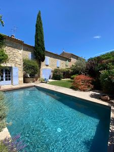 Photo for Charming house with garden and pool in the heart of a village 15 kms from Nîmes