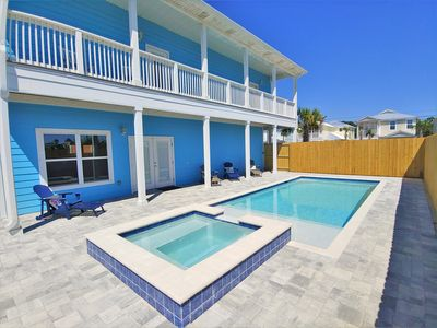 Photo for SALTWATER POOL & HOT-TUB! Water View! Rent 4, Get 5th FREE!
