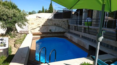 Photo for BEDOIN-MONT VENTOUX - PRETTY HOUSE 4 PERS WITH SWIMMING POOL AND JACUZZI PRIVES