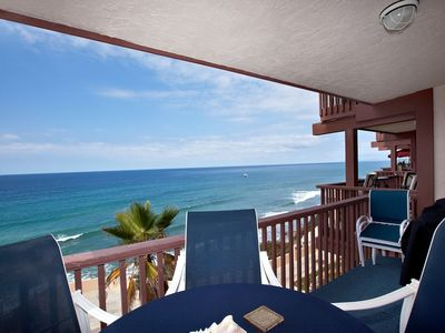 Photo for Ocean Front Top Floor condo Del Mar Beach Club DMBC841