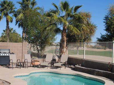 Photo for 3BR Home with Heated Private Pool, Golf, & Mountain Views