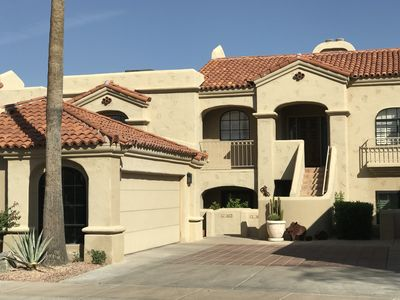 Photo for Upmarket luxury condo overlooking golf course and mountains
