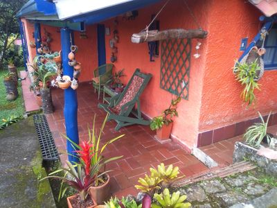 "Photo for Cabin ""El Cafetalito"" located in the middle of a small coffee plantation"