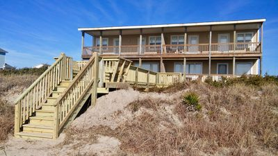 Photo for Completely renovated for 2019! Beautiful 4 bedroom OCEANFRONT Duplex!