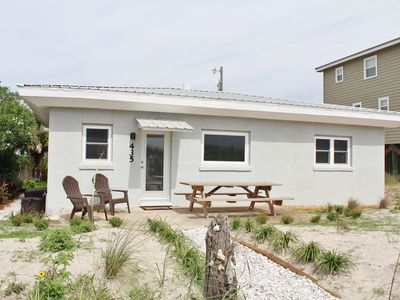 Photo for Updated Beachfront Cottage - Just Steps To Ocean!