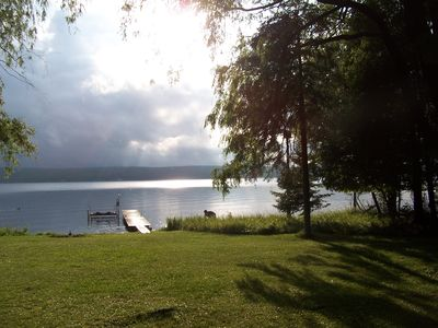Photo for Private Beach Getaway  on Hubbard Lake