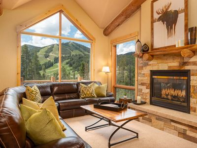 Photo for Luxe Townhome w/ Resort Views | Private Hot Tub | Mtn Modern | Sleeps 10
