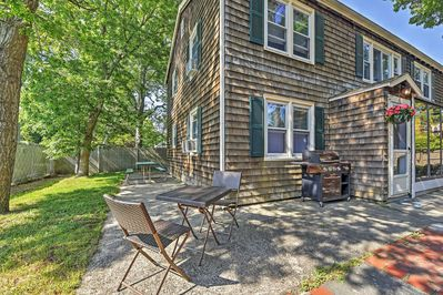 Welcome to this charming South Yarmouth vacation rental townhome!