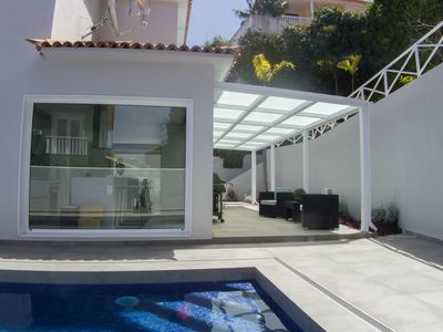 Photo for Heated private pool, Wi-Fi, barbecue