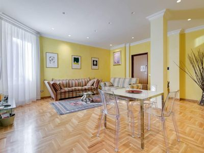 Photo for Luxury Suite just above St. Agnese / Annibaliano Subway Station