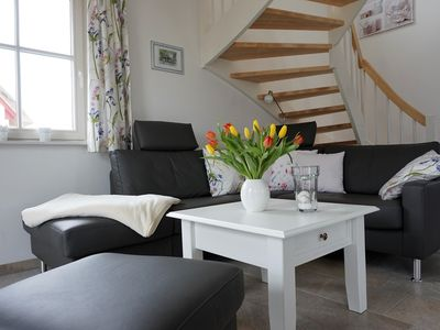 Photo for Thatched house for allergic persons with 3 bedrooms, sauna, fireplace, bed linen and towels