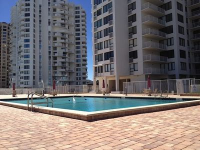Photo for Oceanfront 2 Bedroom, 2 Bath Condo With Ocean Views From LR and both BDRMs.