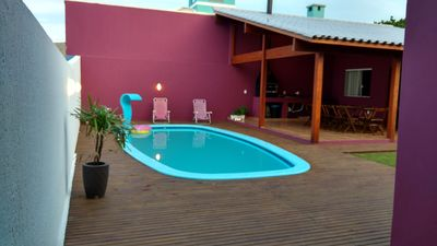 Photo for house with swimming pool, internet wi-fi, air conditioning near the south beaches of the island